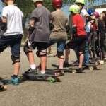 Longboarden kinderfeestje Groningen